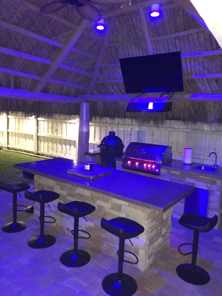 tiki outdoor kitchen fl