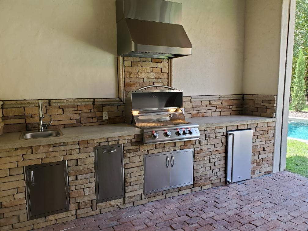 custom out door kitchens FL
